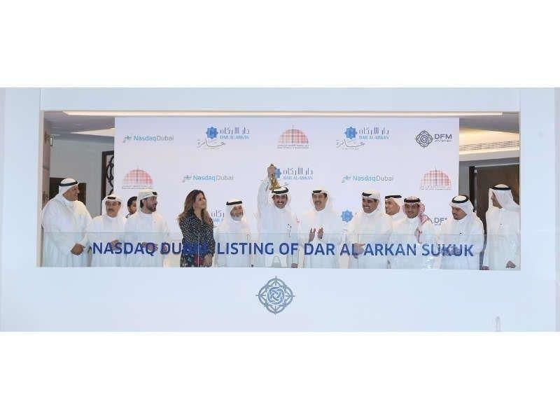 دار الأركان السعودية تحتفل بإدراج صكوك بقيمة 500 مليون دولار أمريكي في ناسداك دبي